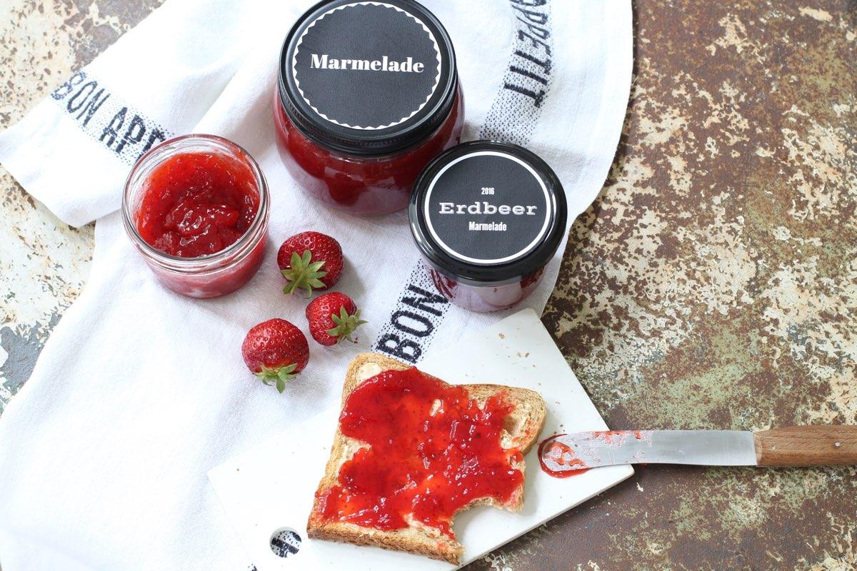 superfruchtige Erdbeermarmelade