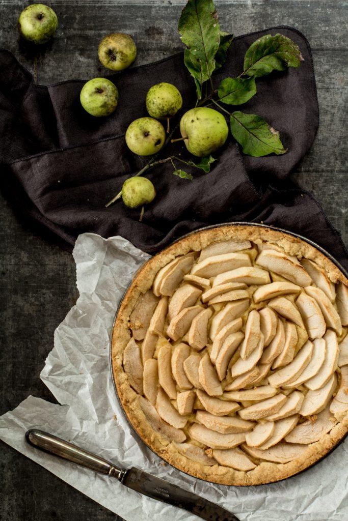 Apfelkuchen: einfach und lecker
