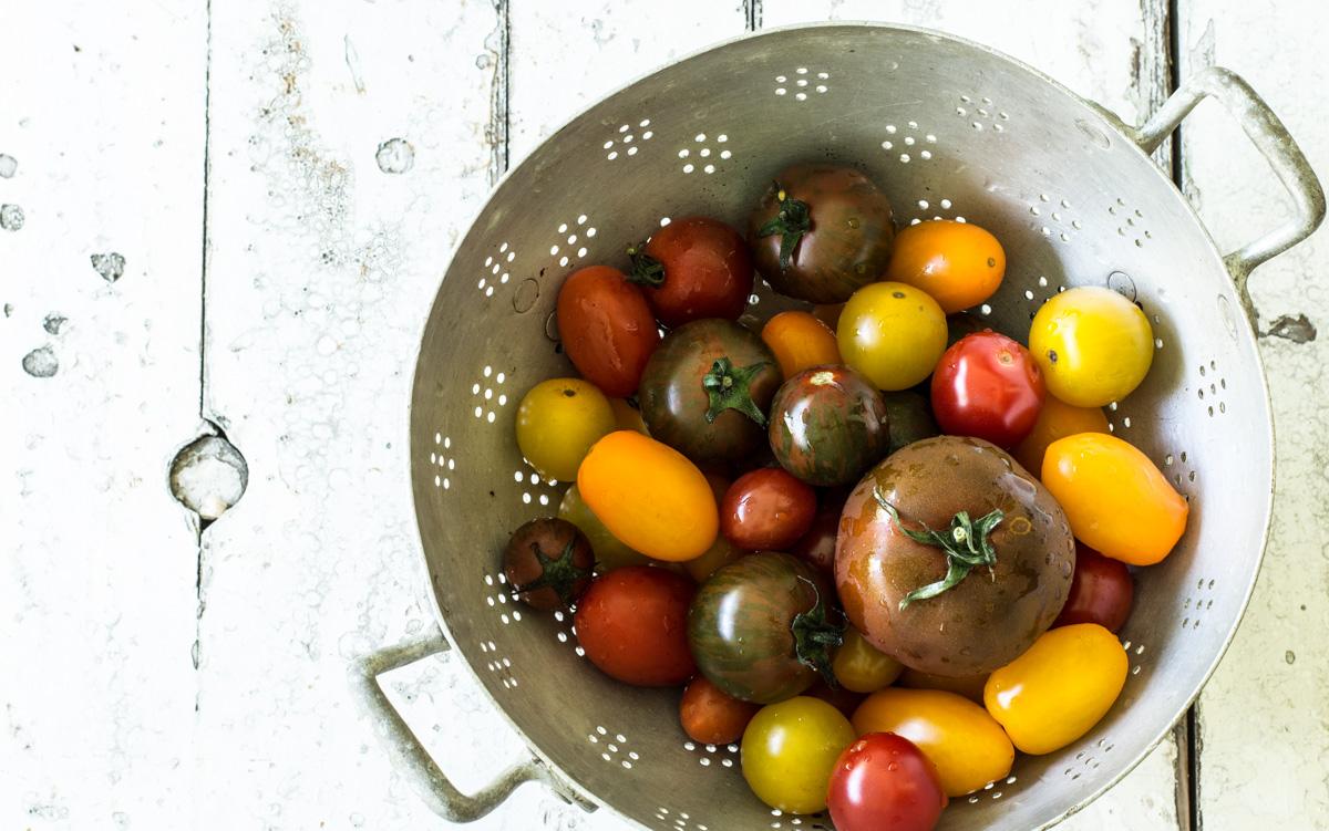 Tomaten bunt gemischt