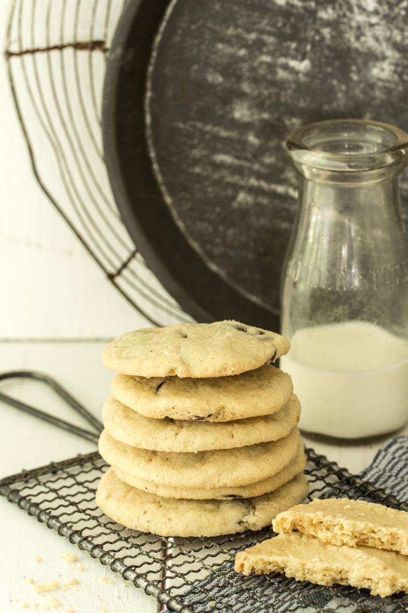 American Cookies mit Schokolade schmecken zwischendurch oder als Weihnachtsplätzchen