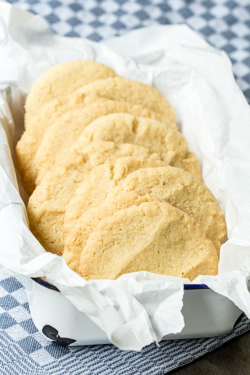 American Cookies mit braunem Zucker