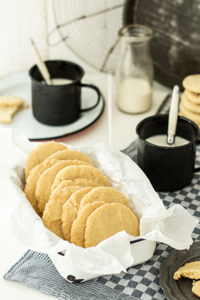American Cookies schmecken zwischendurch oder als Weihnachtsplätzchen