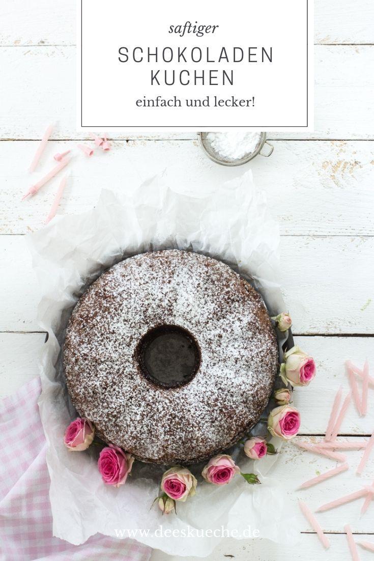 saftiger Schokoladenkuchen mit Rotwein oder Traubensaft -so einfach geht's #schokoladenkuchen #geburtatagskuchen #rezepte #backen #einfach #guglhipf