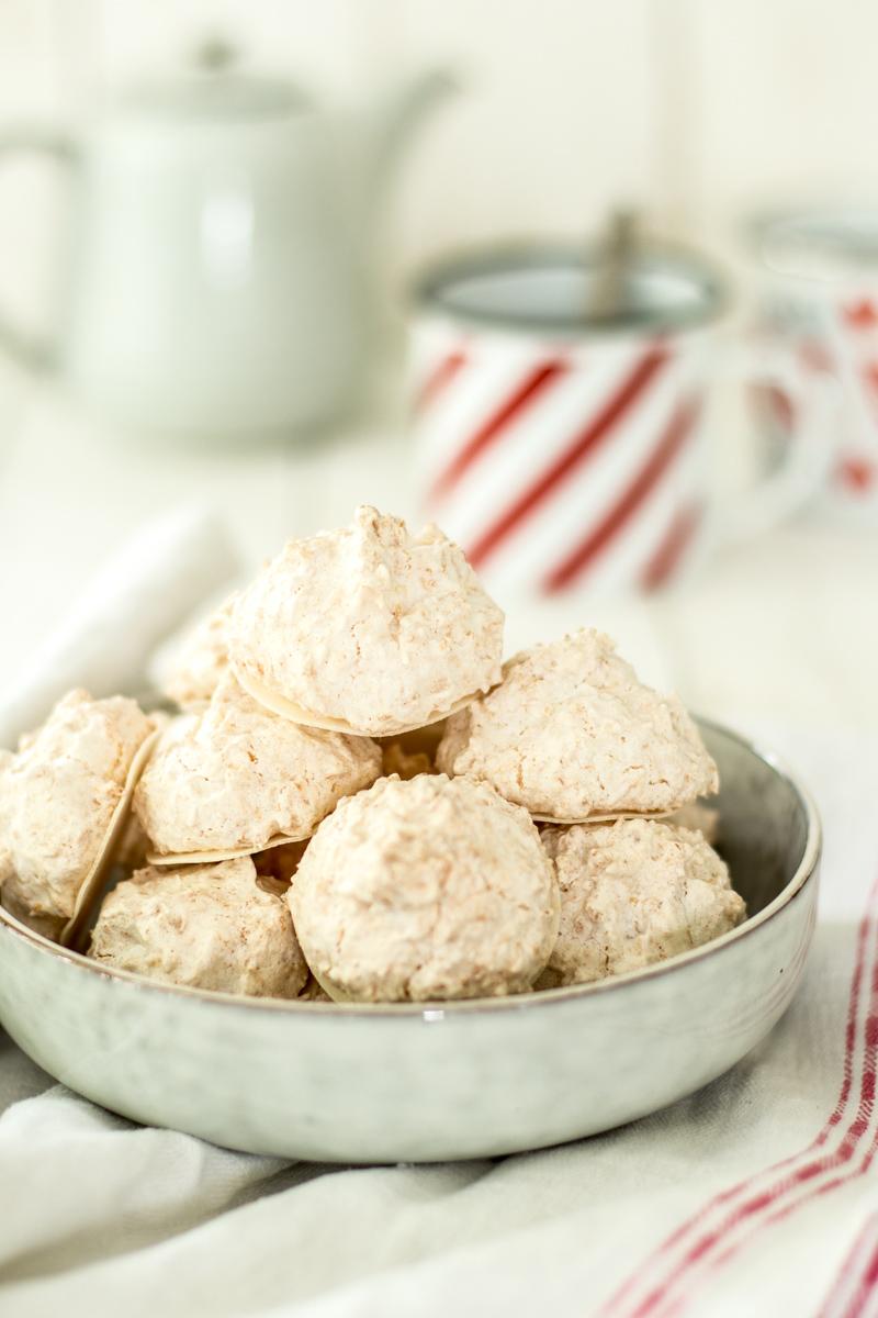 Kokosmakronen schmecken nicht nur zu Weihnachten - so einfach geht's!