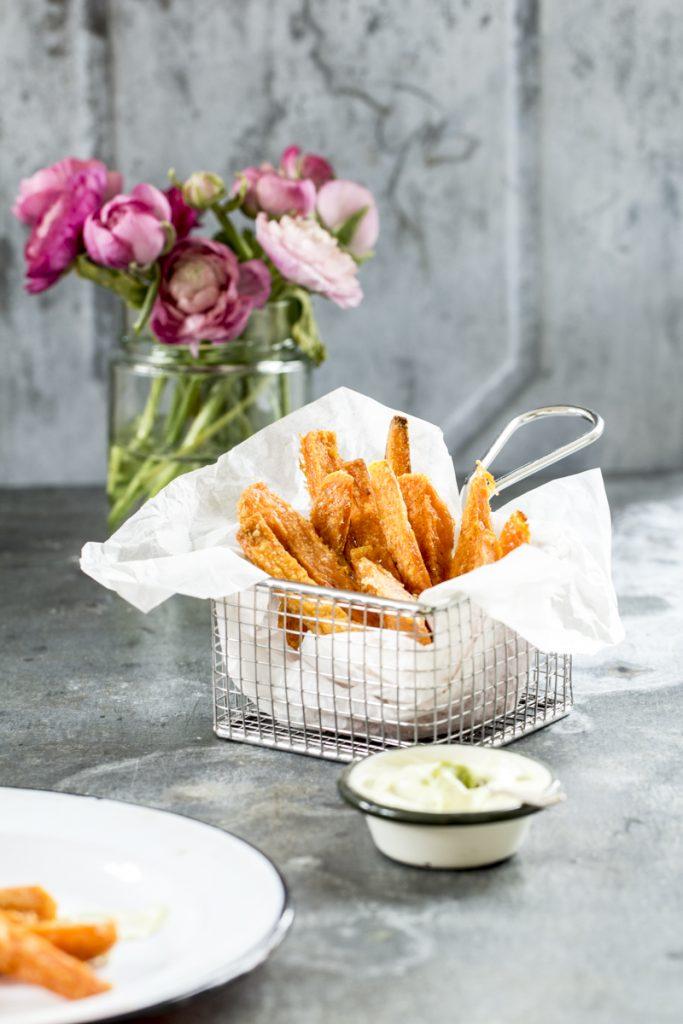 Sueßkartoffel-Pommes ganz einfach Selbermachen