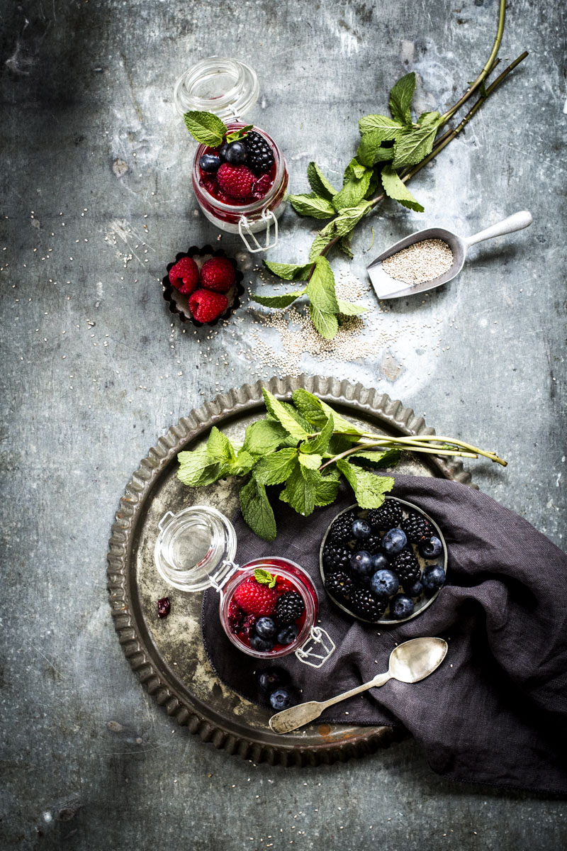 Chia-Pudding Grundrezept | Dee's Küche