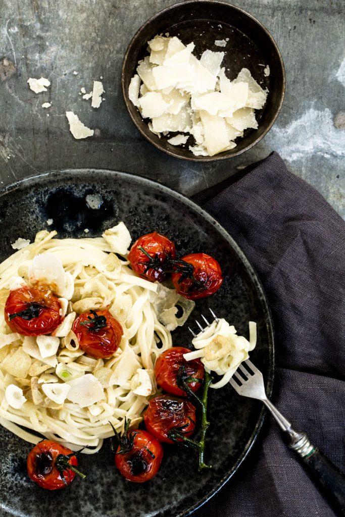 Knoblauch Spaghetti ganz einfach selber machen