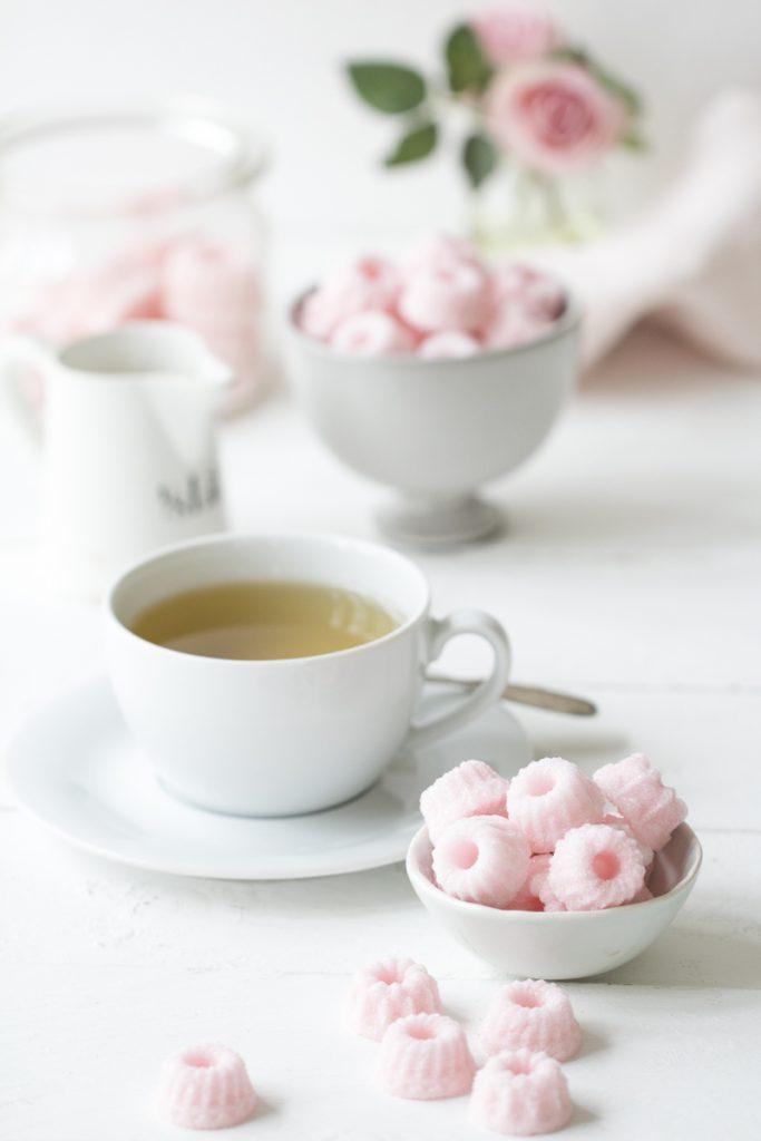 Valentinstag: Zucker Gugl ganz einfach selber machen + Etiketten zum Ausdrucken #Valentinstag #Muttertag #GeschenkeausderKüche