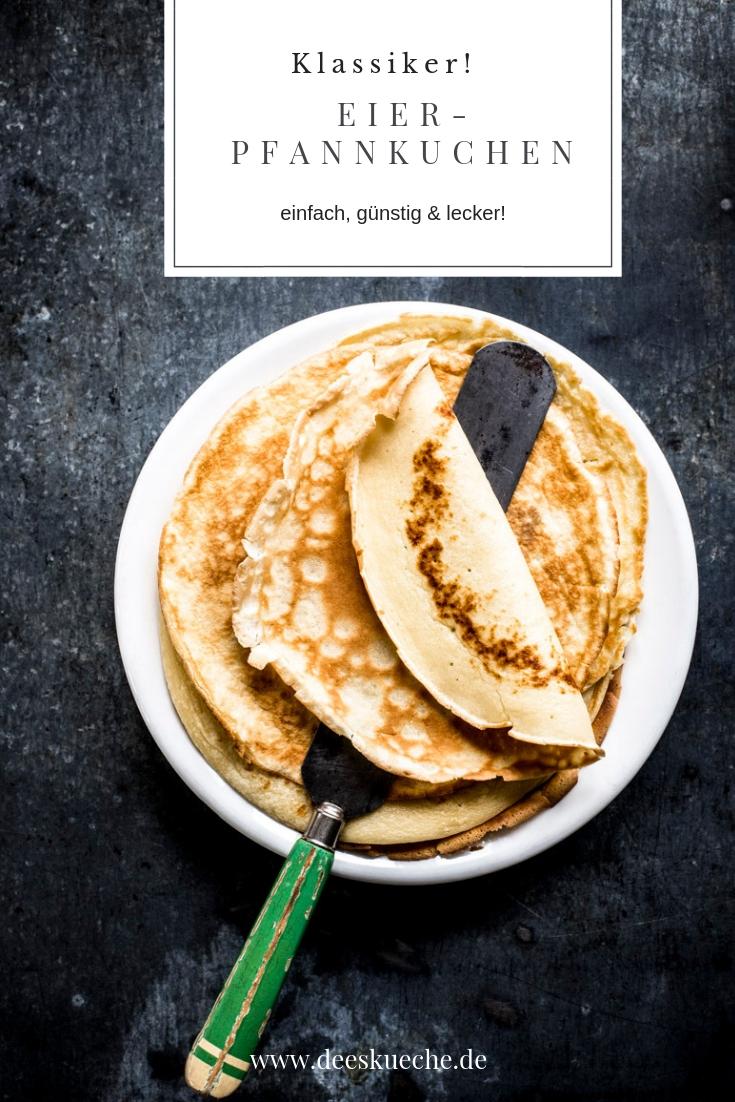 Eierpfannkuche mit selbstgemachtem Apfelmus: einfach, günstig, lecker #rezept #eierpfannkuchen #crépes #rezept #einfach #schnell #lecker
