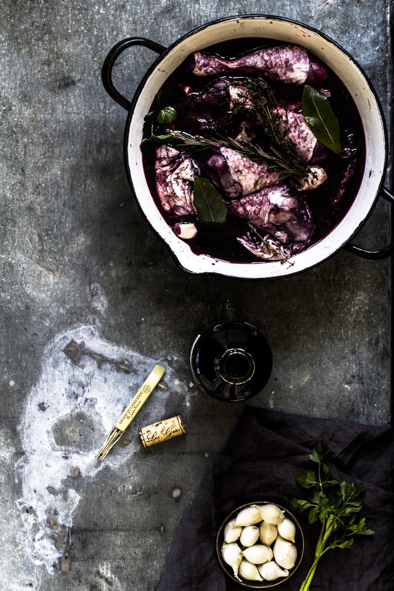 Marinade für Coq au Vin   Dee's Küche