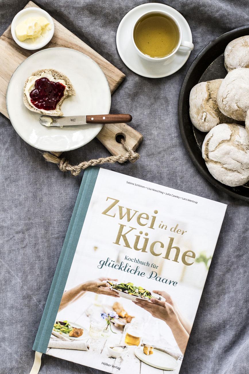 """Kochbuch """"Zwei in der Küche"""" ISBN: 978-3-88117-126-7"""""""