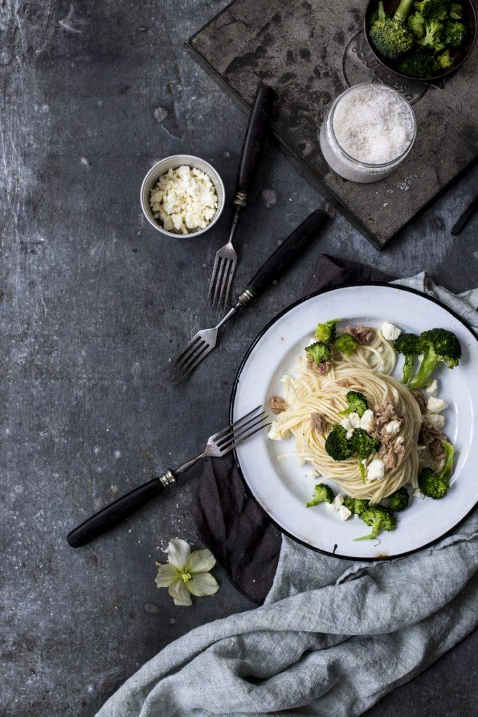 Thunfischnudeln mit Feta und Brokkoli - Sattmacher vom Feinsten: so einfach, so lecker!
