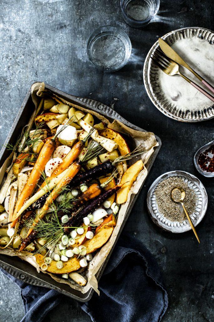 Karamellisiertes Ofengemüse -so einfach geht's #ofengemüse #grillgemüse #vegetarisch #vegan #vegetarischerezepte #einfach #rezepte #backofen #gemüseausdemofen