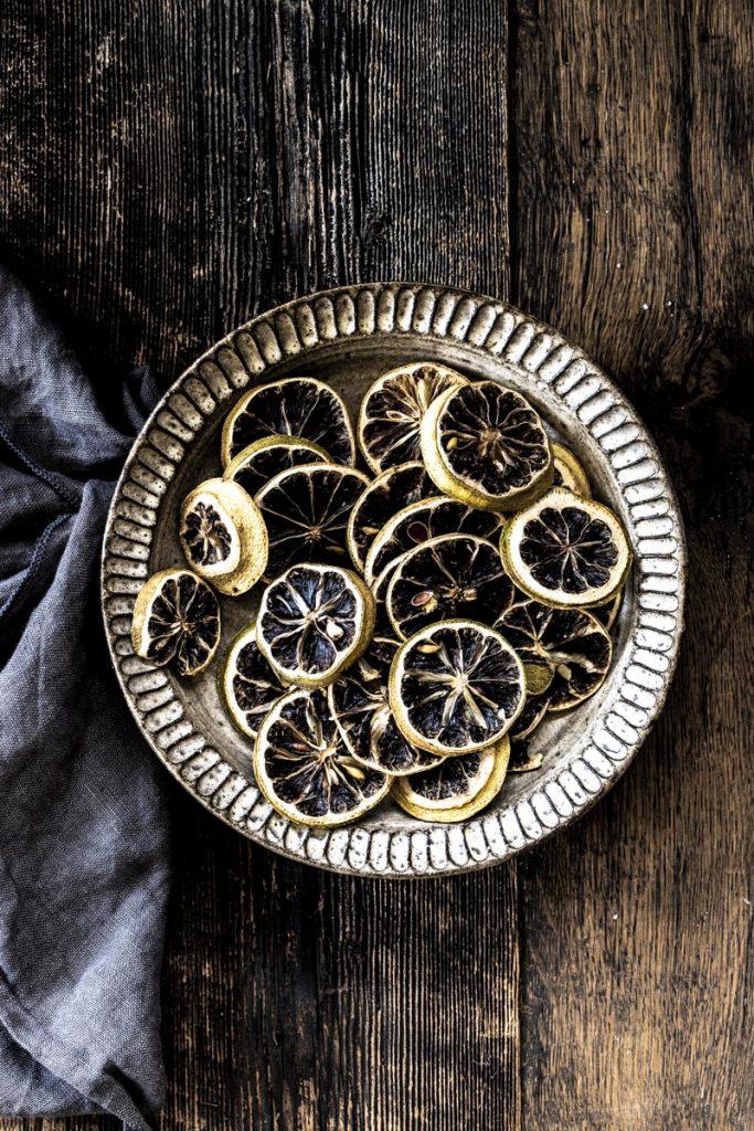 Dee's Küche - einfach gut essen - getrocknete Zitronen