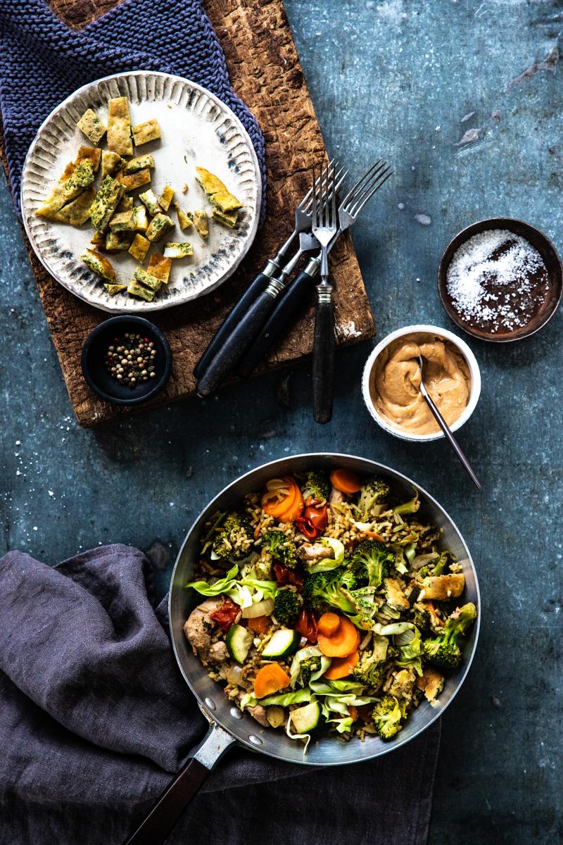 Perfektes Nasi Goreng indonesisch - Originalrezept! #nasi #nasigoreng #vegetarisch #bami #indonesisch #reis #einfach #rezepte #reisgericht