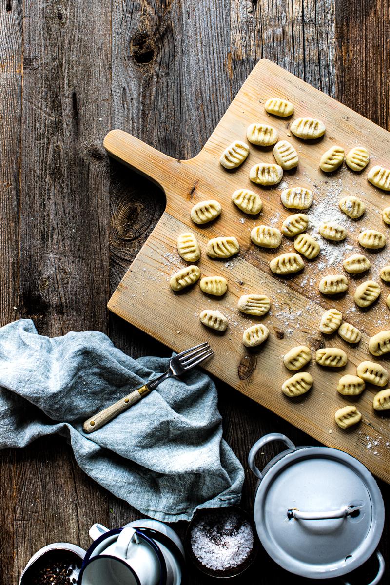 Gnocchi in Salbeibutter ganz einfach selber machen