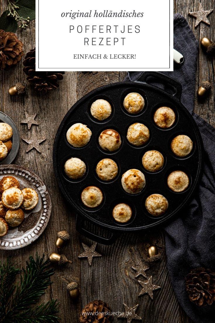 Original holländisches Poffertjes Rezept mit Hefe -einfach und lecker | Dee's Küche